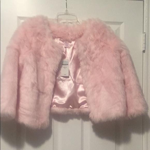 28801947942 Gymboree Jackets & Coats | Moms 34 Sleeve Faux Fur Coat | Poshmark